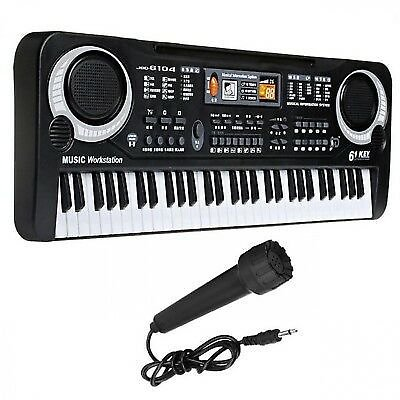 Piano Electronic Keyboard Digital Music Instrument 61 Keys Portable Stage Used 696507358876