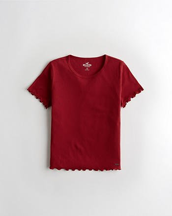 Girls Must-Have Baby Tee   Girls Clearance   HollisterCo.com