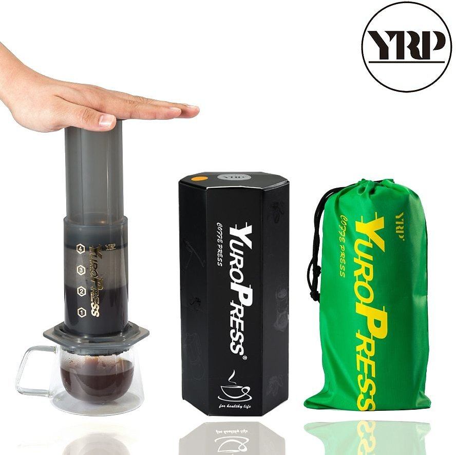 US $21.76 45% OFF|YRP YuroPress Portable Coffee Maker Espresso French Press Barista Tools Coffee Pot Air Press Drip Coffee Machine Filters Paper|Coffee Pots| - AliExpress
