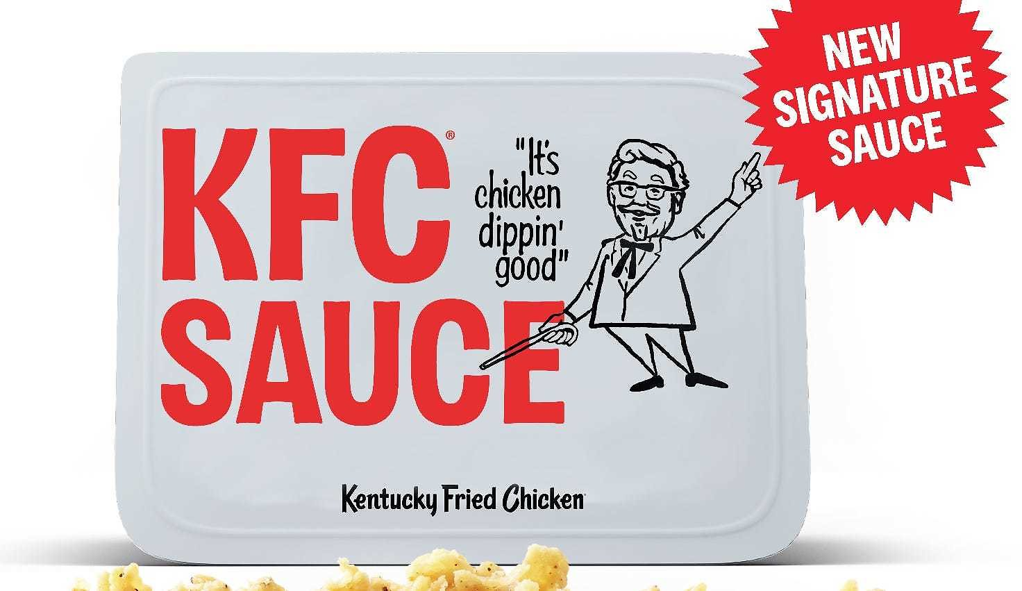 Kentucky Fried Chicken Adding KFC Sauce: New Tangy, Sweet and Smoky Signature Dipping Sauce Launches Monday