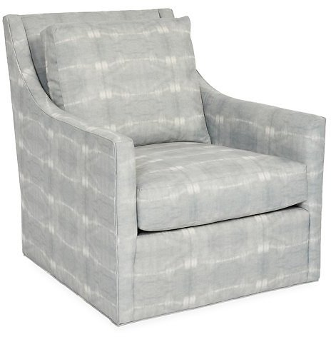 Fairfax Swivel Club Chair, Mist