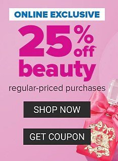 Belk   25% Off Beauty Purchases