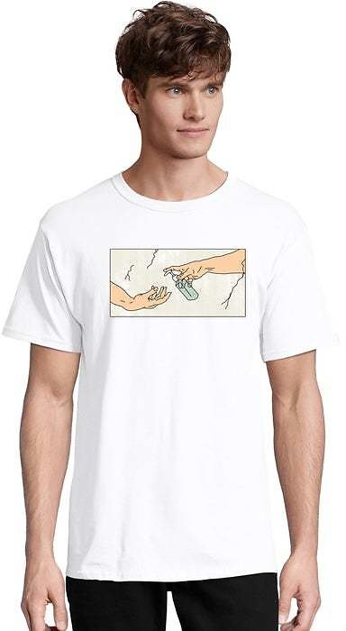 Adult Hand Sanitizer Short Sleeve Graphic Tee