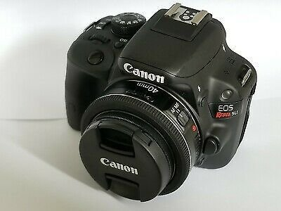 Canon EOS Rebel SL1 DSLR Camera + 40 Mm Lens - Black (Body) 13803222470