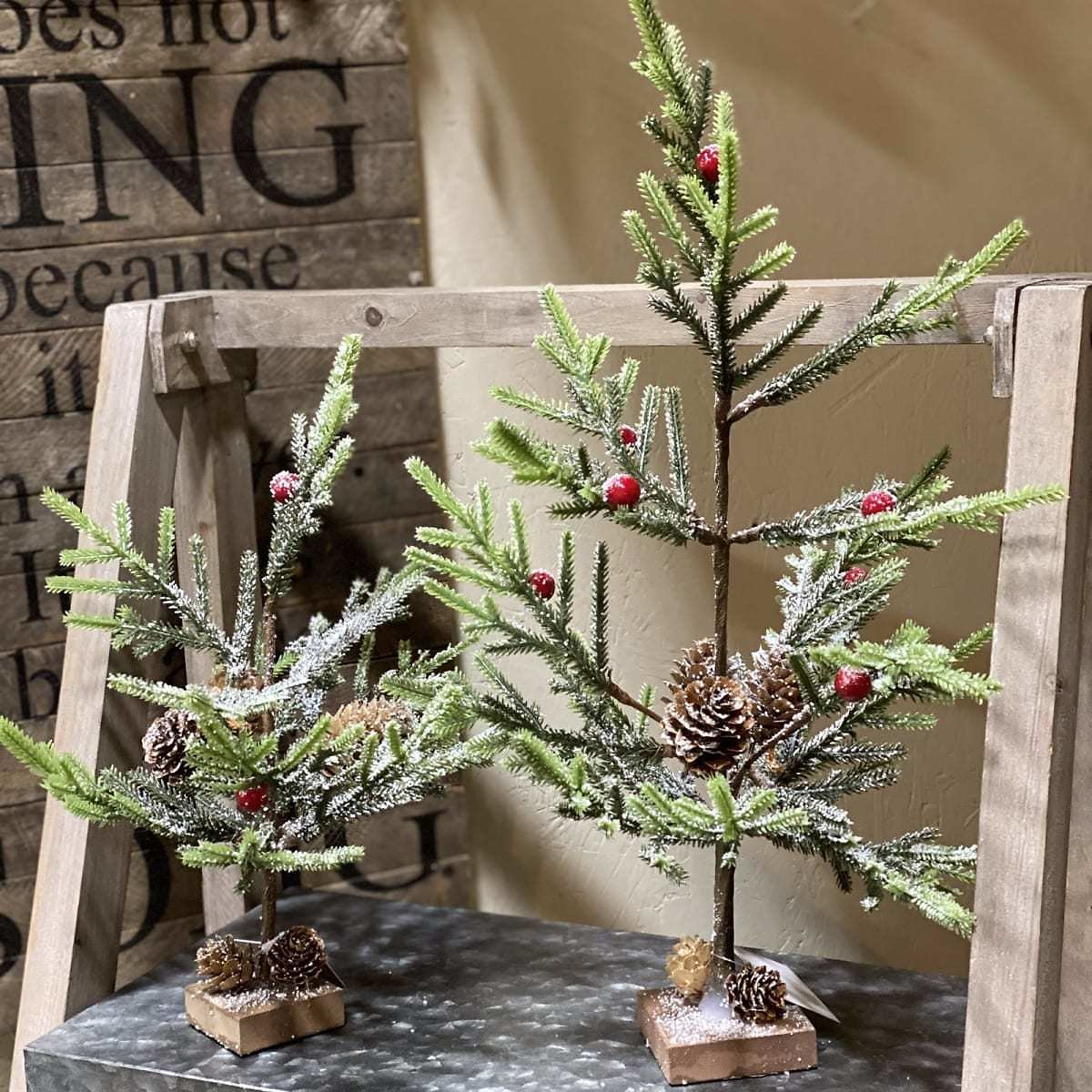 Petite Christmas Tree | Set of 2