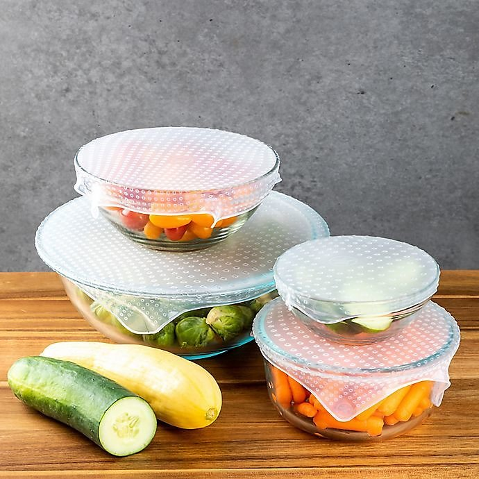 Core Kitchen 4-Pc Reusable Food Covers