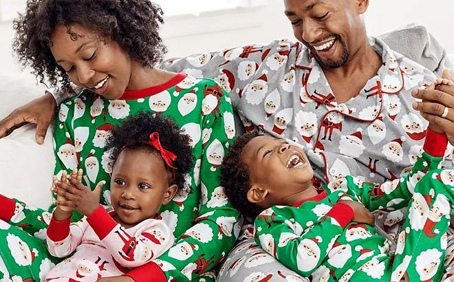 40% Off Holiday Family Pajamas + Extra 20% Off