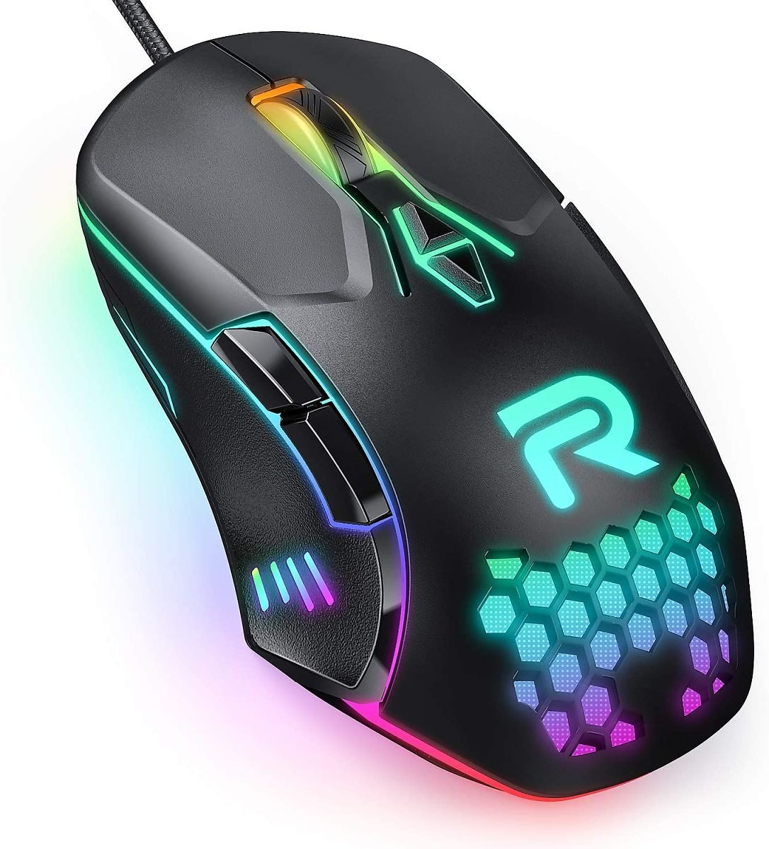 RUNMUS Gaming Mouse with 7 Programmable Buttons