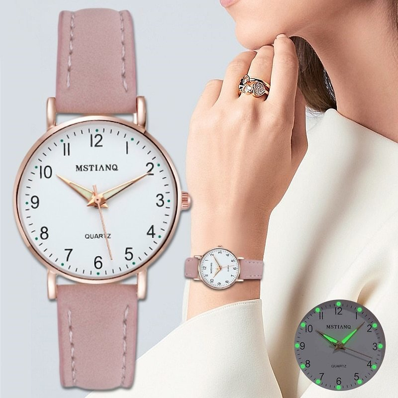 US $4.67 22% OFF|2020 NEW Watch Women Fashion Casual Leather Belt Watches Simple Ladies' Small Dial Quartz Clock Dress Wristwatches Reloj Mujer|Women's Watches| - AliExpress