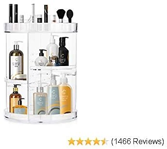 Save 50% off Rotating Makeup Organizer for Women and Girls