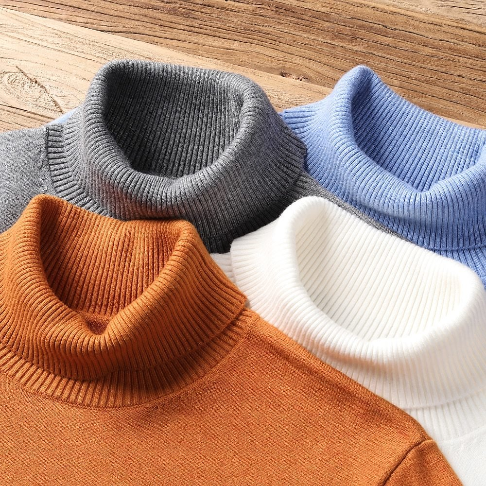 US $18.59 50% OFF|2020 New Autumn Winter Men's Warm Turtleneck Sweater High Quality Fashion Casual Comfortable Pullover Thick Sweater Male Brand|Turtelneck Sweater| - AliExpress
