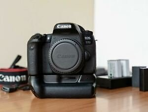 Canon EOS 77D 24.2 MP DSLR Camera with EXTRAS Packages Full HD