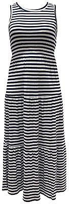 Style & Co Striped Sleeveless Maxi Dress, Created for Macy's & Reviews - Dresses - Women