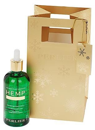 New! Perlier Supersize Hemp Seed Oil with Bag