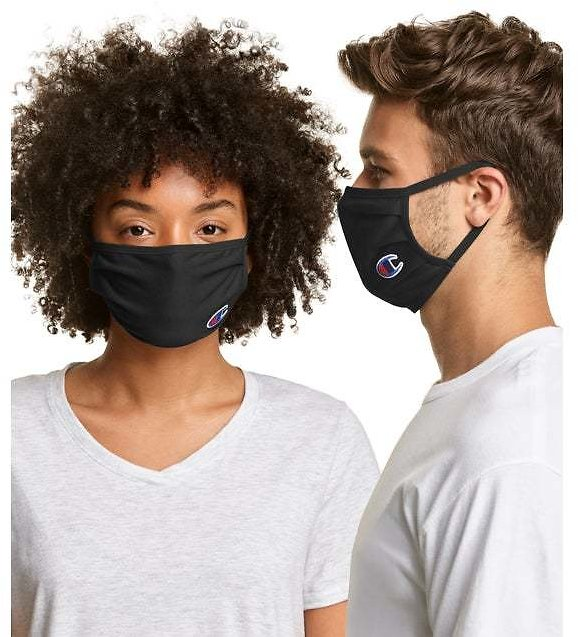 Champion Adult Cotton Wicking Face Mask