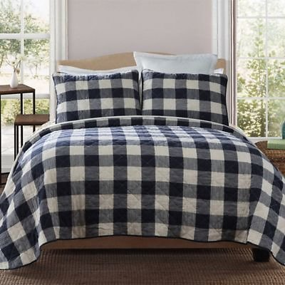 Bee & Willow™ Home Buffalo Check Reversible 3-Piece Quilt Set