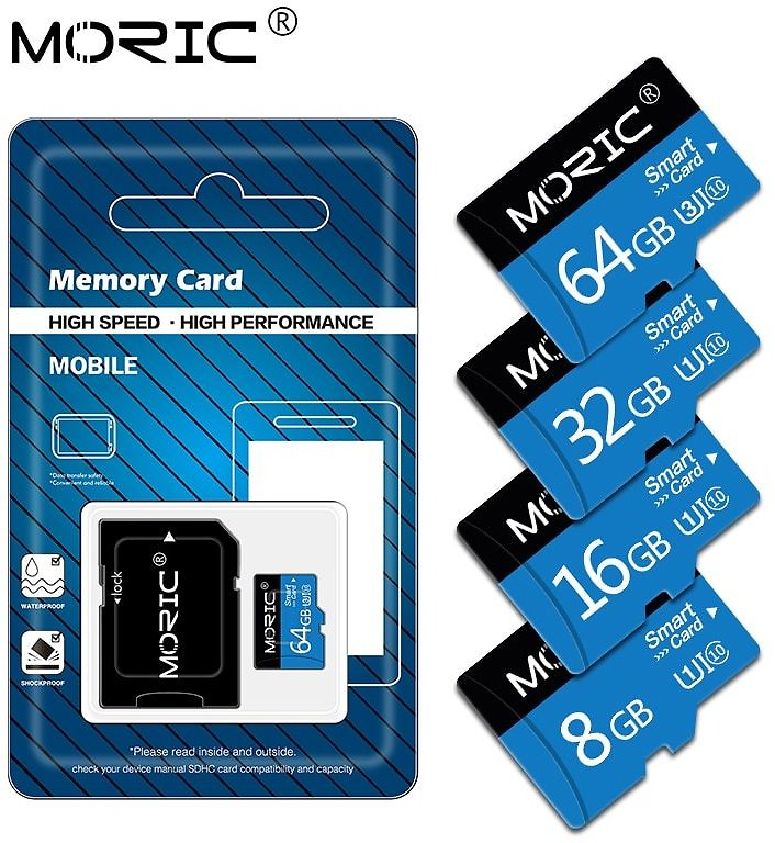 US $4.4 |High Speed Class10 Memory Card 8GB 16GB 32GB Micro Sd Card 64GB 128GB Tarjeta Microsd 32gb Mini TF Card 4GB with Free Adapter|Micro SD Cards| - AliExpress