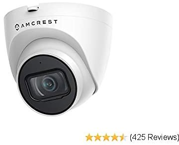 Amcrest 5MP UltraHD Outdoor Security IP Turret Camera