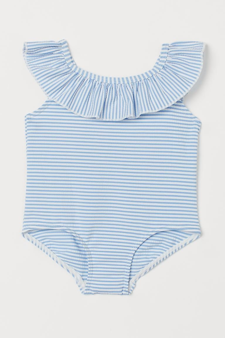 Ruffle-trimmed Swimsuit