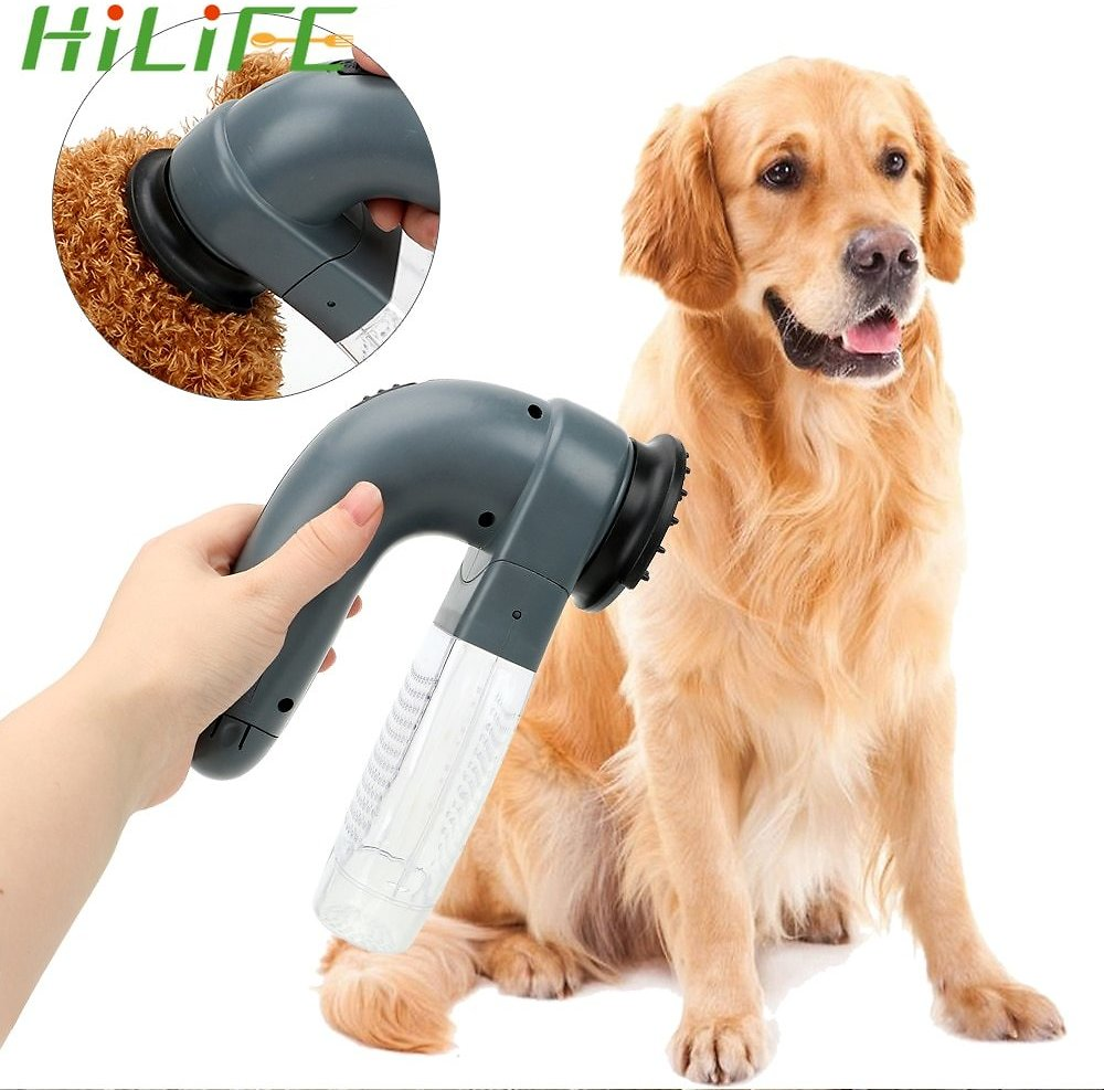 US $6.99 29% OFF|HILIFE Vacuum Fur Cleaner Cat Dog Animals Hair Comb Pet Grooming Cat Dog Deshedding Clipper Pet Massage Electric Suction Device|Cat Grooming| - AliExpress