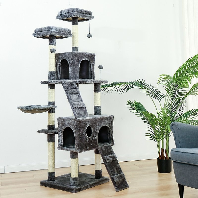 US $47.95 30% OFF|Fast Delivery Luxury Cat Tree House Pet Cat Scratch Board Scratching Toy Ball Sisal Scratch Post Cat Scratching Post KittenTower|cat Tree House|scratching Postcat Scratching Post - AliExpress