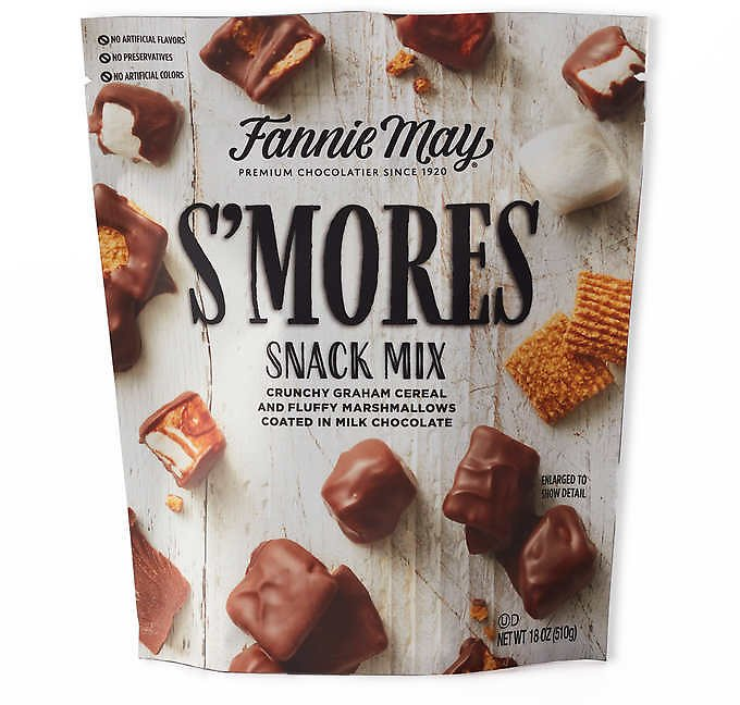 Fannie May S'mores Snack Mix Bag, 18 Oz