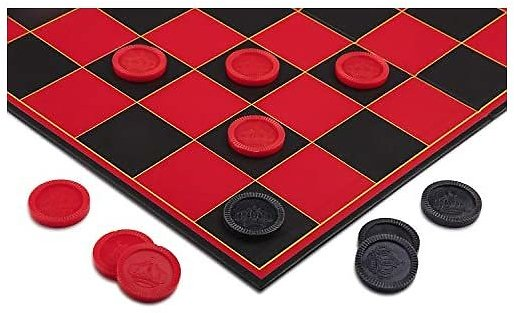 Deal-o-Meter Point Games Checkers Set