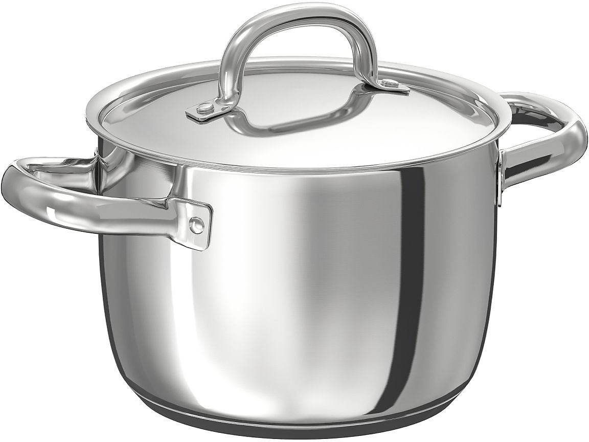 OUMBÄRLIG Pot with Lid, 3.2 Qt