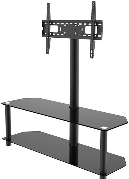 Inland Products ProHT 05449 Black TV Stand with Mount for TVs Up to 60