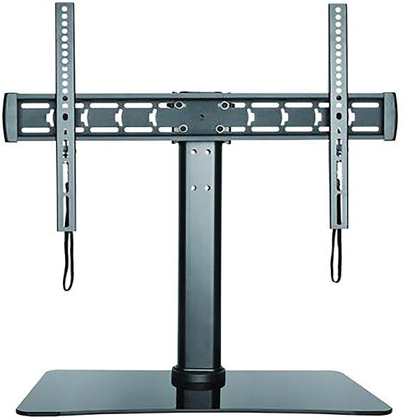 Stanley® Stanley® 32-inch To 70-inch Adjustable Tabop Tv Stand With Glass Base