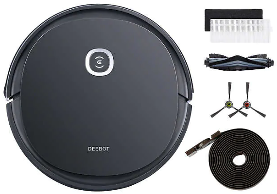 ECOVACS DEEBOT U2 Pro Vacuuming & Mopping Robot with Pet Care Kit