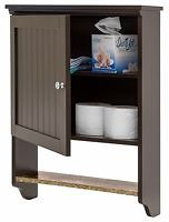 BCP Bathroom Wall Mounted Hanging Storage Cabinet