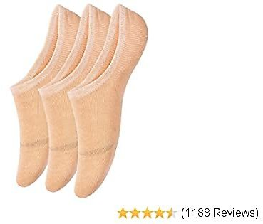 No Show Socks for Women, 3-15 Pack Thin Casual Invisible Non Slip Flat Boat Line Socks