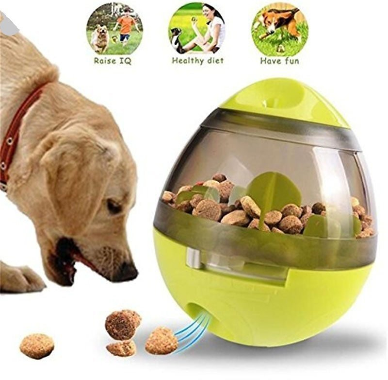 US $2.84 |Interactive Cat Toy IQ Treat Ball Smarter Pet Toys Food Ball Food Dispenser For Cats Playing Training Balls Pet Supplies|Dog Toys| - AliExpress