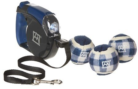 Avalanche Pet Dog Play Dog Toy and Leash Set - 4-Piece