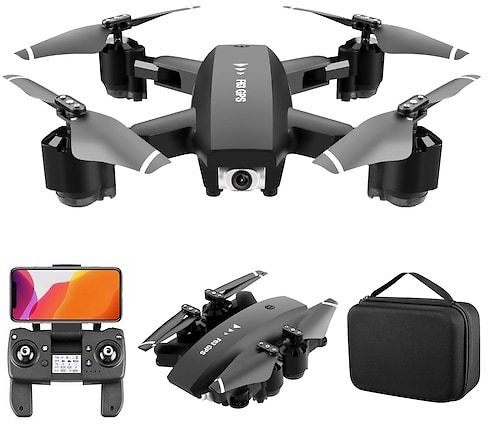 F63 Foldable GPS WIFI FPV RC Drone Quadcopter with Ultra HD Camera Optical Flow