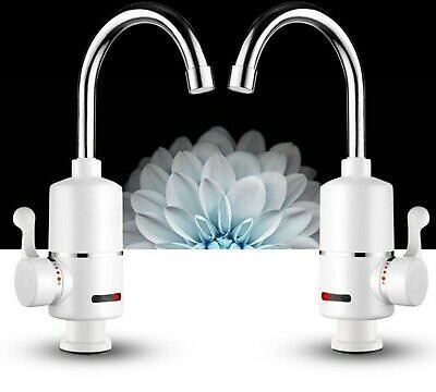 3000W Kitchen/Bathroom Electric Hot Water Heater Faucet Instant Heating Tap