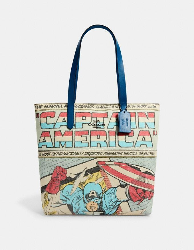 Coach │ Marvel Tote with Captain America