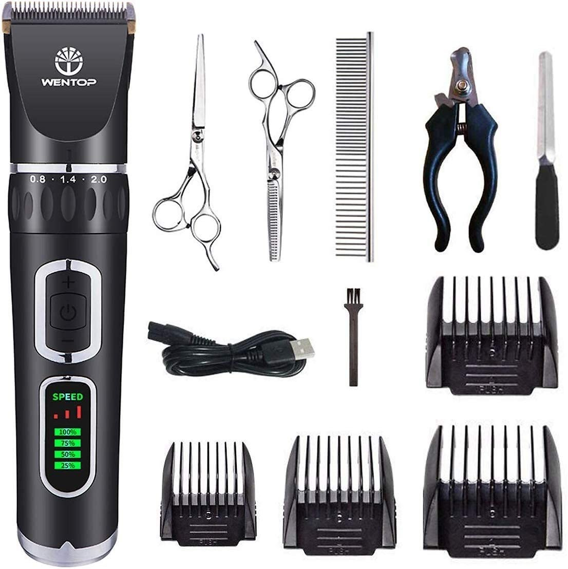 Prime Day Deal | 3-Speed Dog Grooming Clippers Kit