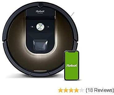 iRobot Roomba 981 Robot Vacuum-Wi-Fi Connected Mapping