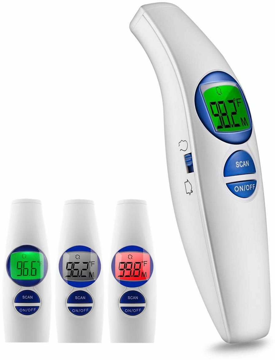 No Contact Forehead Thermometer with Fever Alarm and Memory Function for Only $14.99