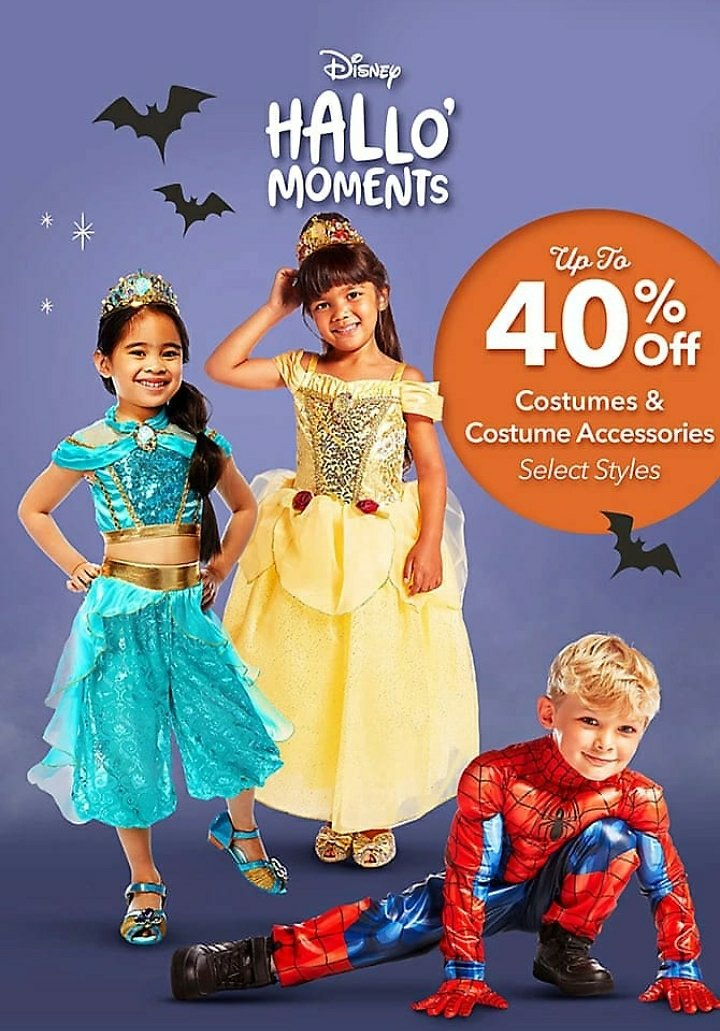 Up To 40% Off Costumes & Accessories