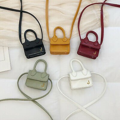 Fashion Women Leather Mini Shoulder Chain Messenger Small Rucksack Shoulder Bags