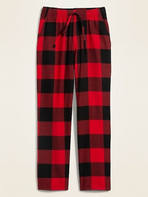 Plaid Flannel Pajama Pants for Men | Old Navy