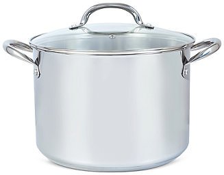Tools of The Trade 10-Qt. Stainless Steel Stock Pot with Lid, Created for Macy's & Reviews - Cookware - Kitchen