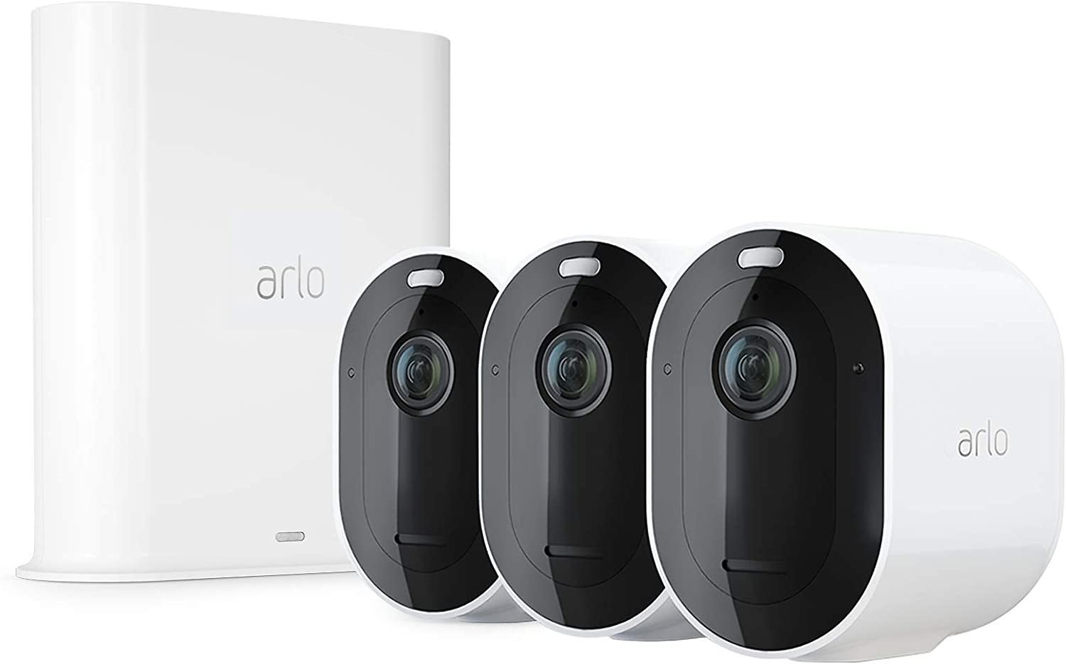 Arlo Pro 3 Spotlight Camera | 3 Camera Security System