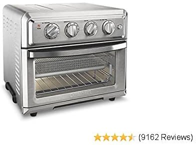 Cuisinart TOA-60 Convection Toaster Oven Airfryer, Silver 2020