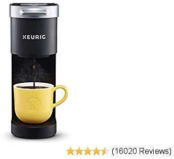 2020Keurig K-Mini Coffee Maker, Single Serve K-Cup Pod Coffee Brewer, 6 to 12 Oz. Brew Sizes, Black