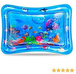 50% OFF Inflatable Baby Water Mat, 27.3*20 inch, Max 110LBS, 0.35mm thickness