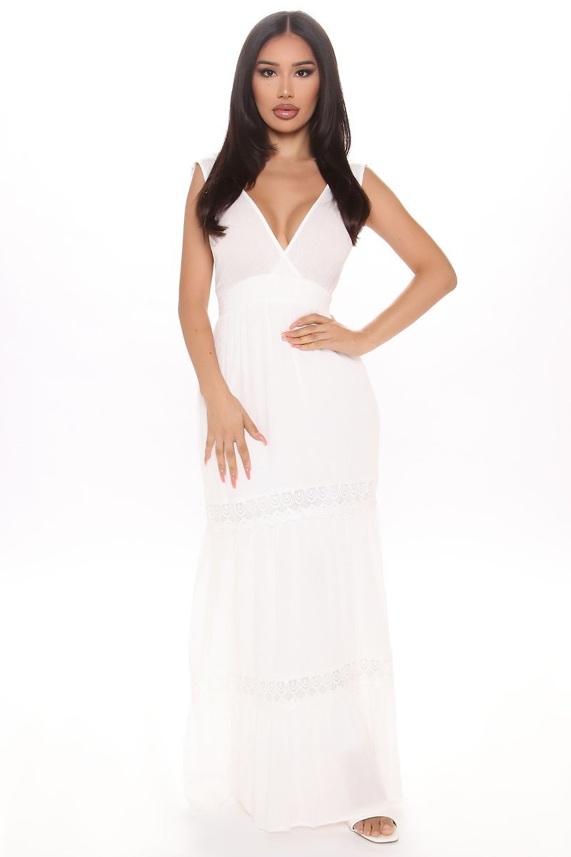 Love Song Maxi Dress - Ivory
